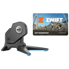 Rodillo Tacx Flux 2 Smart + suscripción Zwift membership card 2019